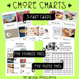 Toddler and Older Printable Chores