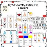 Toddler learning activity for preschool prep