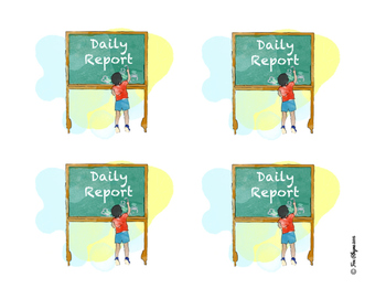 Toddler's Daily Report
