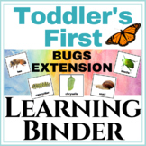 Toddler's First Learning Binder Bugs Extension!