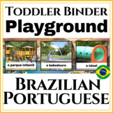 Toddler's First Portuguese Learning Binder Playground Extension!