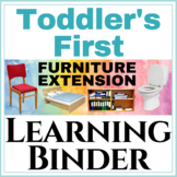 Toddler's first Learning Binder: Furniture Extension!