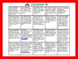 Toddler/Preschool Speech & Language Activity Calendar-December