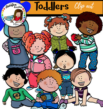 Toddlers Clip Art