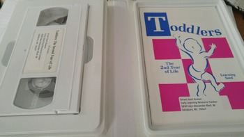 Toddlers The 2nd Year of Life VHS & Guide