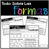 Todo Sobre Las Formas - No Prep Worksheet Activity