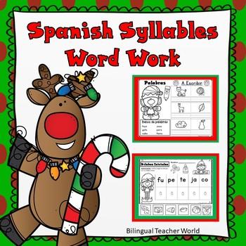 Todo Sobre Las Silabas:  Diciembre