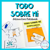 Todo Sobre Mí - All About Me {Interactive Notebook}