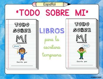 """Todo Sobre Mi"" – Editable Blank Spanish Books for Early W"