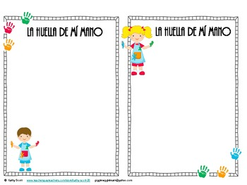 "Todo Sobre Mí Journal ""All About Me"" Beginning & End of Year Parent Gift Spanis"