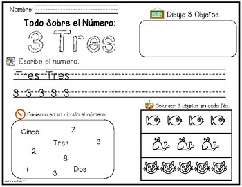 Exploración de Números (1-10) - Number Exploration (1-10)