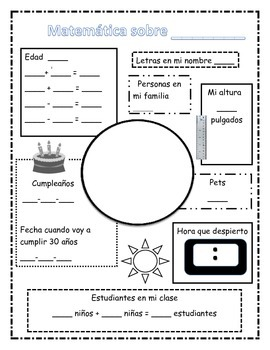 Todo sobre 3-5 All About Me Spanish