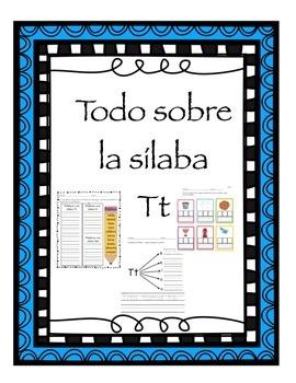Todo sobre la sílaba Tt
