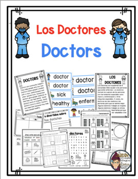 Todo sobre los doctores/All About Doctors in Spanish and English