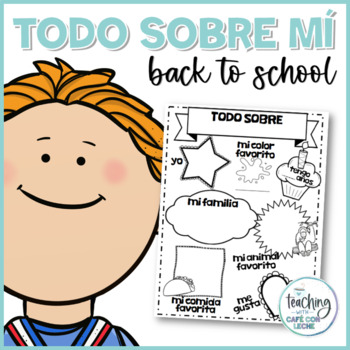 Todo sobre mi / All about me in Spanish