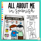 All About Me Writing Book in Spanish - Todo Sobre Mi
