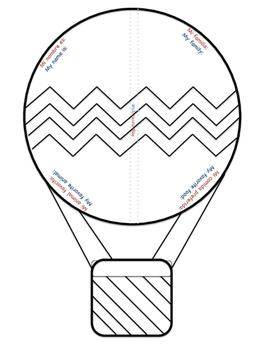 Todo sobre mi balloon All about me balloon bilingual/dual language