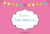 Todo sobre mi pennant! (All about me) SPANISH version