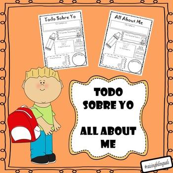 Todo sobre yo/All about me