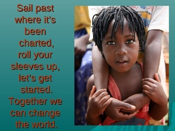 Together We Can Change the World Powerpoint Sing Along