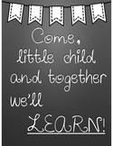 Together We'll Learn Poster