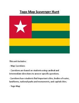 Togo Map Scavenger Hunt
