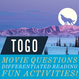 Togo: Movie Questions, Differentiated ENL ELA Readings, Fu
