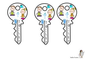 Toilet Keys