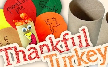 Toilet Paper Roll Thankful Turkeys Tutorial (in Spanish, too!)