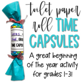 Toilet Paper Roll Time Capsules!