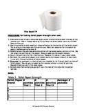 Toilet Paper Scientific Method WS