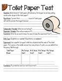Toilet Paper Test (Simple Scientific Method Lab) (ENGLISH,