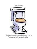 Toilet Privacy Social Narrative