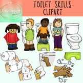 Toilet Skills SPED and Early Childhood Clipart 22 Piece Set