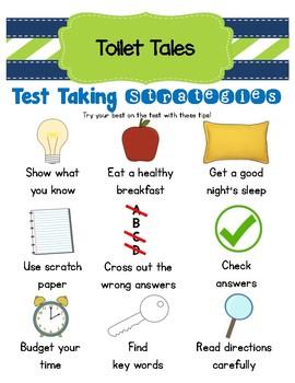 Toilet Tales - Test Taking Stategies