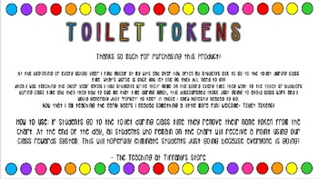 Toilet Tokens