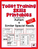 Toilet Training Printables for Students with Autism & Simi