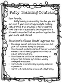 Toilet Training School Parent Contract
