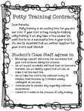 Toilet Training School Parent Contract