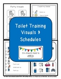 Toilet Training Visual Schedules {Autism Classroom}