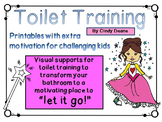 "Toilet Training: Visual supports to motivate students to ""let it go!"""