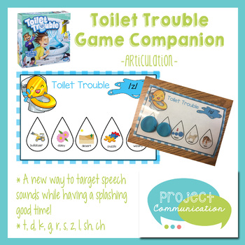 Toilet Trouble Game Companion - Articulation