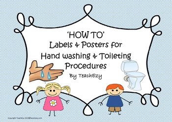 Toilet and Hand Washing Instructions