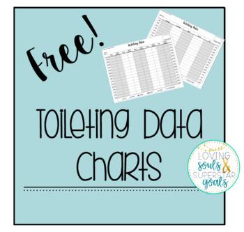 Toileting Bathroom Data Sheets Freebie