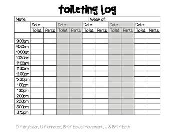 Toileting Log