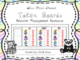 Token Board Behavior Management Chart - Zoo Animal Theme