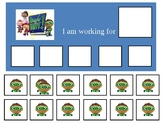 Autism Token Board- Super Why