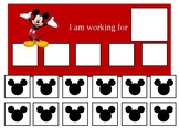 Autism Token Board Mickey Mouse