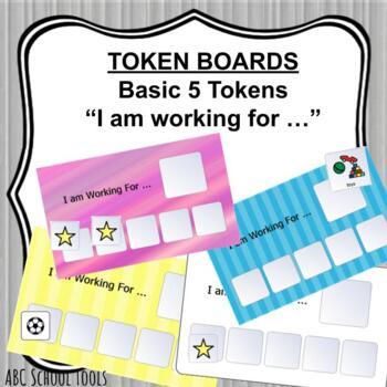 Token Board 5 tokens