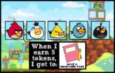 Token Board - Angry Birds Theme